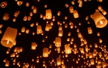 Lanterns in Thailand.