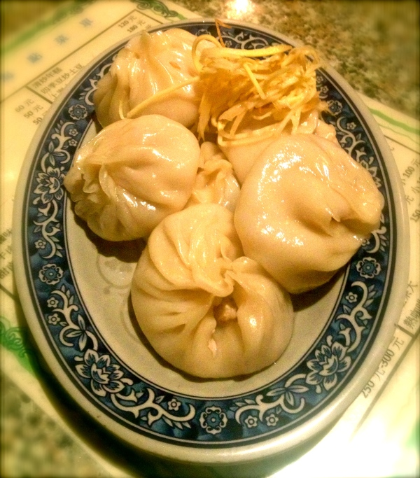 Homemade dumplings made especially for the New Year.