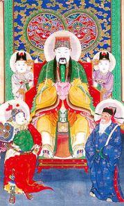 The Jade Emperor.