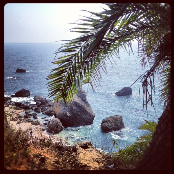 Secret Beach in Kaohsiung.