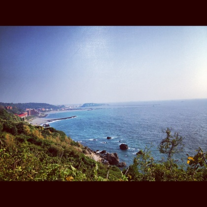 Sizihwan Beach. 30 minute cycle ride from my apartment.