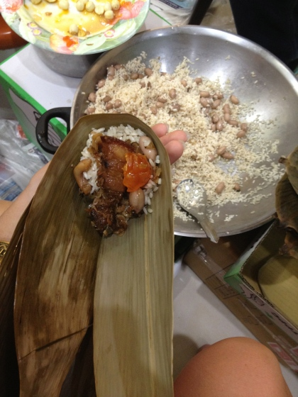 My first Zongzi